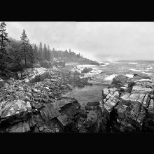 """Acadia Coast"" by photographer Wayne Wilmoth of Naples"