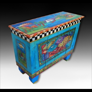 Island Cabinet by Teri Causey of Fort Myers