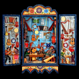 """The Musical Instrument Maker's Workshop"" by Nicario Jimenez of Naples"