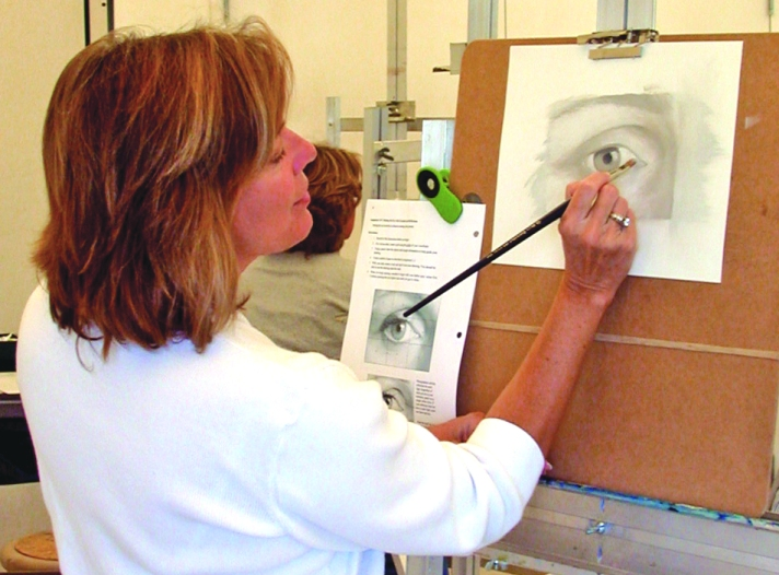 Painting Class at the Center for the Arts in Bonita Springs