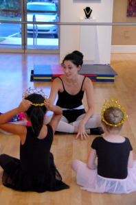 Angela Hicks teaches Ballet Fairytales at the Center for the Arts of Bonita Springs