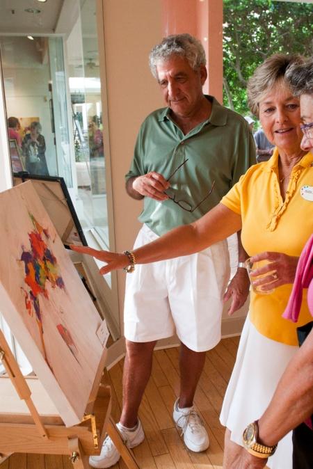 Eileen Walden Johnson Art Walk the Artist Studios at the Promenade in Bonita Bay