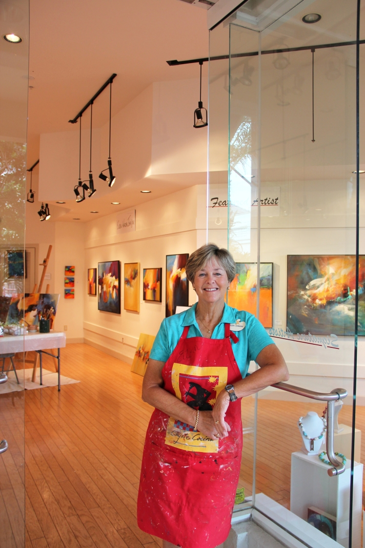 Center for the Arts of Bonita Springs Artist Eileen Walden Johnson