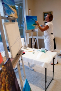 Watercolor Artist Patty Kane Teaches at the Center for the Arts of Bonita Springs