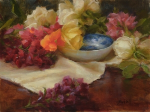 The Blue Bowl by Stephanie Birdsall