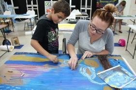 Handboard paintings Summer Camp Week 5_2