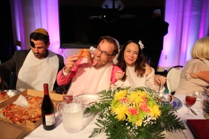 Who Killed the Rabbi Bride and Groom Pizza