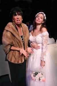 Margot Escott & Jodie Fox Costello in Who Killed the Rabbi Murder Mystery Dinner/Brunch  at the Center for Performing Arts Bonita Springs (Dinner Show, Friday, October 16, 2015; 6:30pm) (Brunch Show, Sunday, October 18, 11:30am)