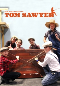 Fence Painting The Adventures of Tom Sawyer with Logo Crop