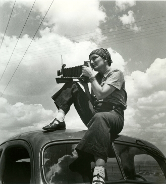 Film Still - Dorothea Lange 1936 by Paul S.Taylor