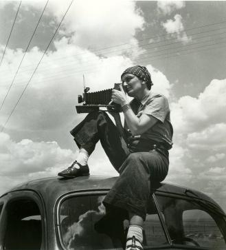 Film Still - Dorothea Lange 1936 by Paul S.Taylor