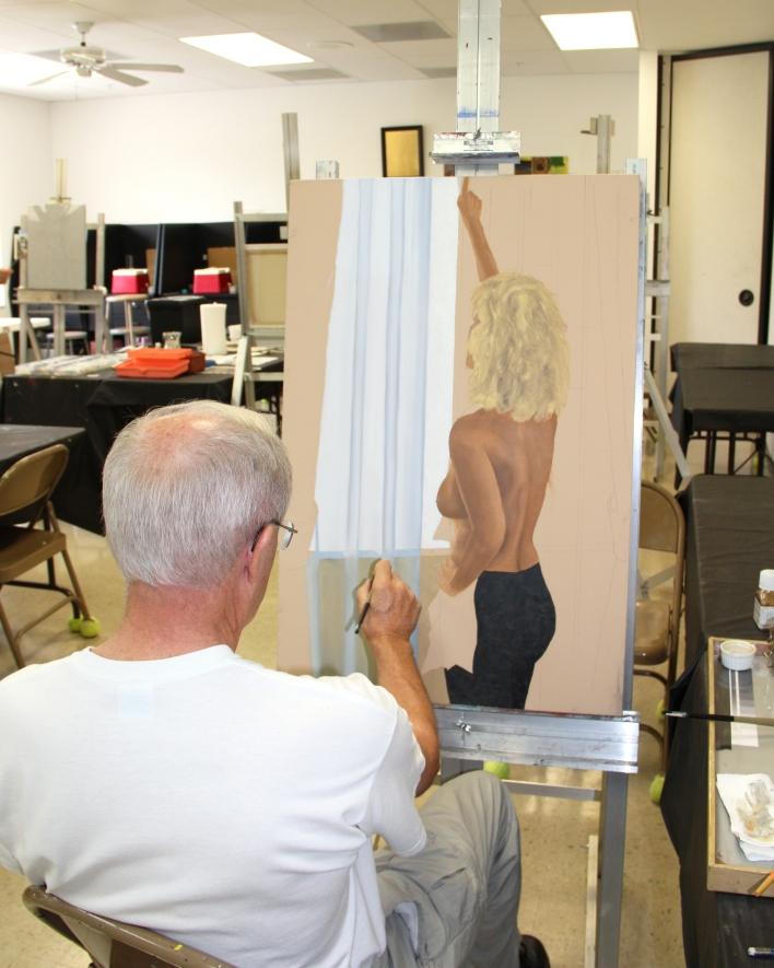 Richard Kirk Painting Class 2012