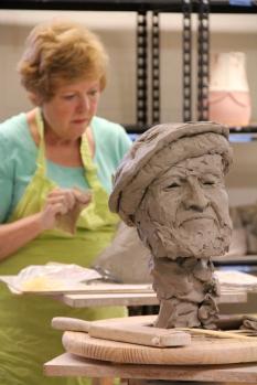Clay Sculpting at CVABS